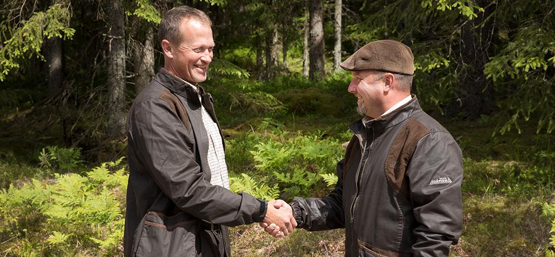 Christian Nilsson, ny skogvaktare hos oss på Fam. Andersson Skog AB